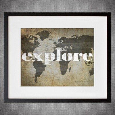 explore graphic print