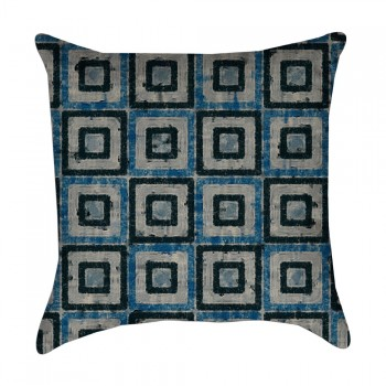 geometric pillow cover