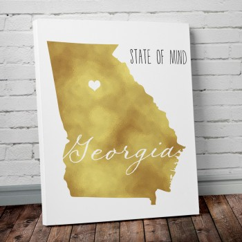 georgia wall art