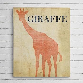 giraffe safari print