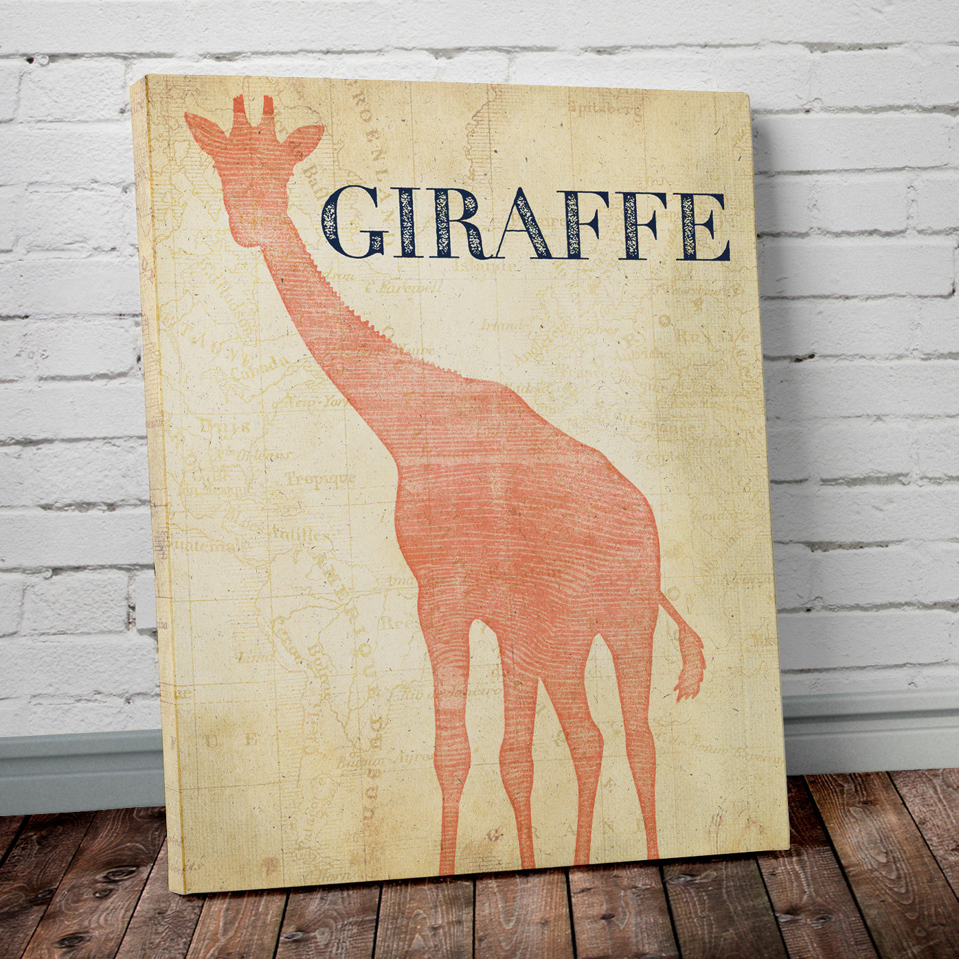 Safari Wall Art rhino - safari theme nursery wall art- project cottage