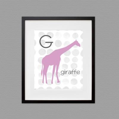 giraffee wall art