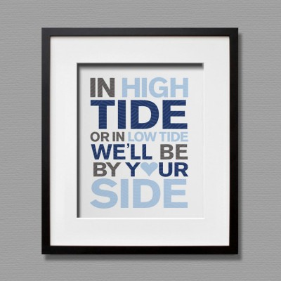 high tide art