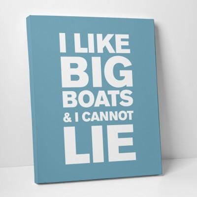 i like boats blue