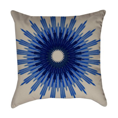indigo blue pillow cover