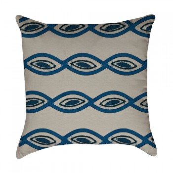 link stripe pillow cover