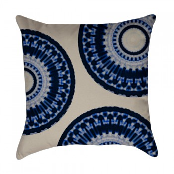 medallion half pillow cover