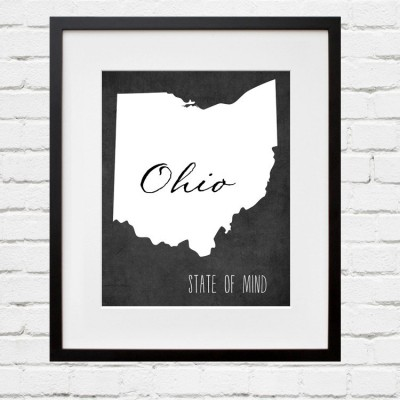 ohio wall art