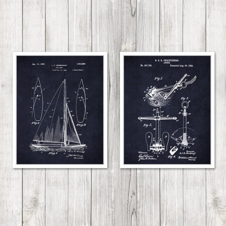 Patent Print Set