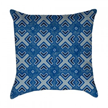 patterned pillow cover