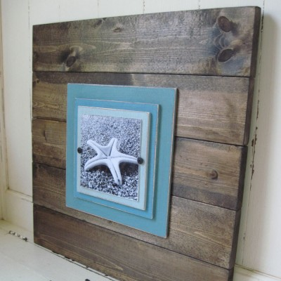 plank frame fish