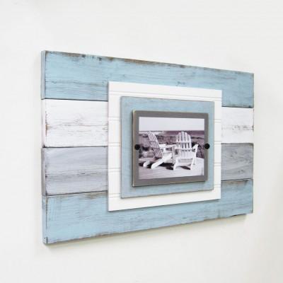 plank frame seafoam