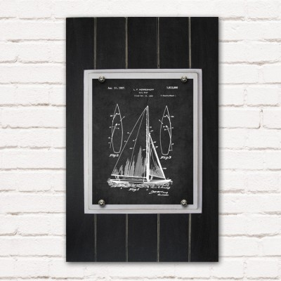 sailboat plank frame