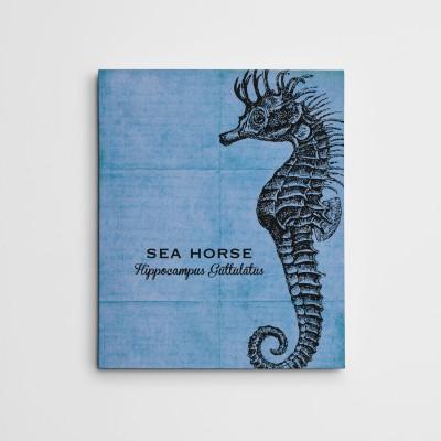 seahorse canvas art