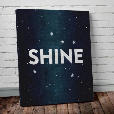 shine stars print
