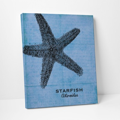 starfish canvas art