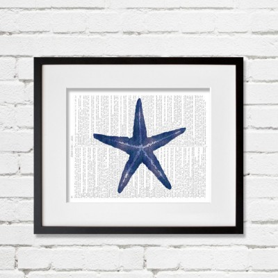 starfish dictionary print