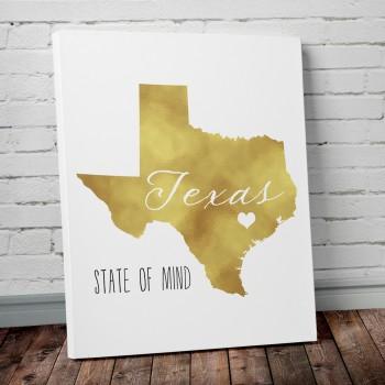 texas gold foil