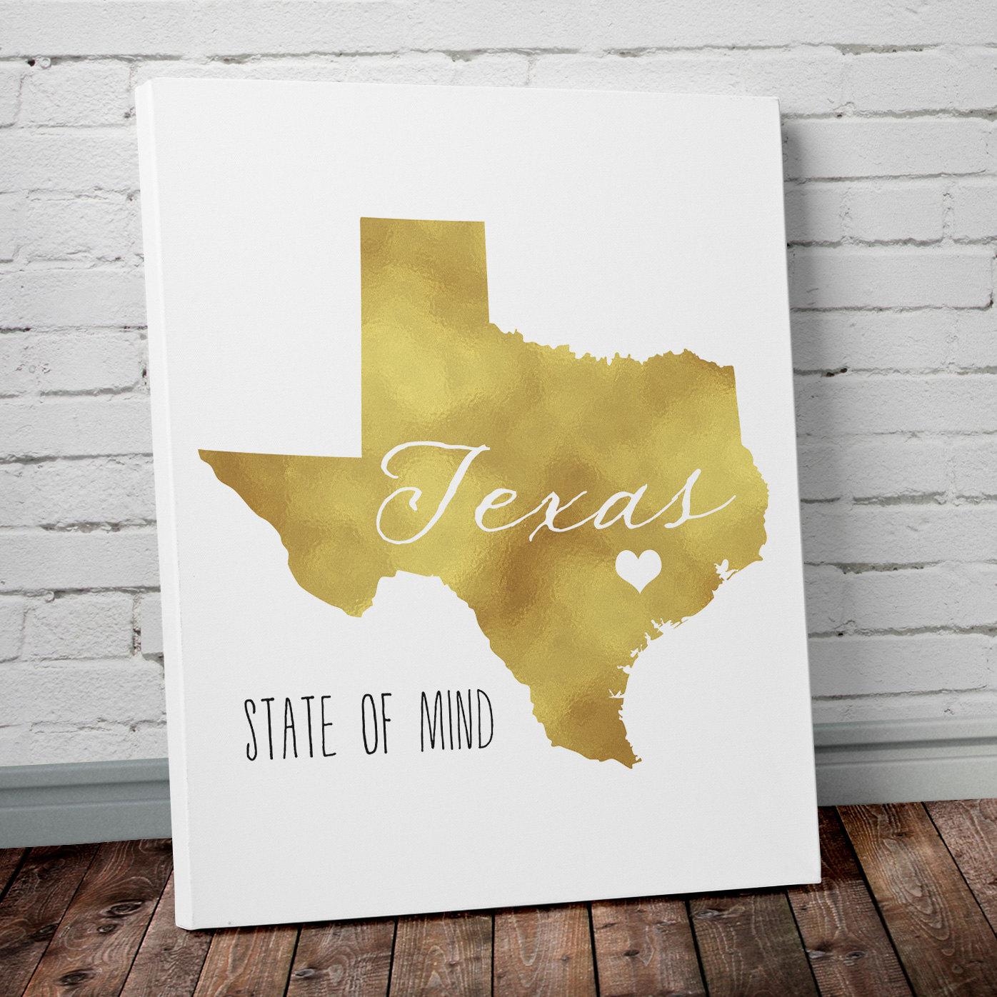Delicieux Texas Gold Foil