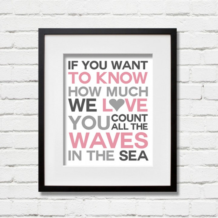 waves wall art