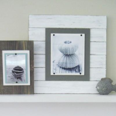 white xtra large plank frame