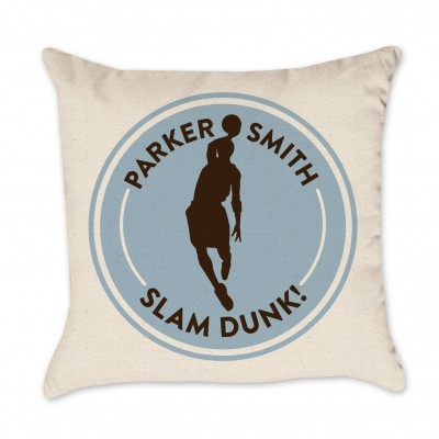 Personalized Basketball Pillow Cover