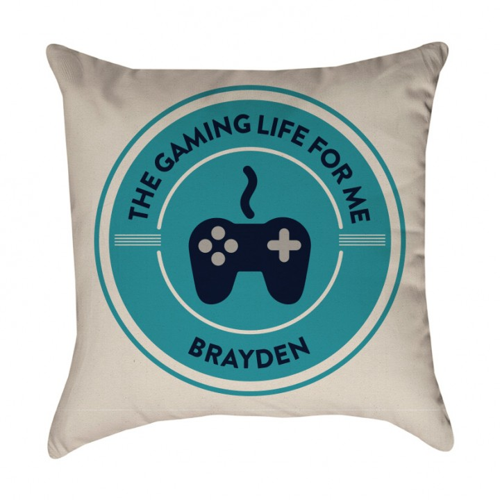 Personalized Gamer Pillow