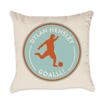 Personalized Soccer Pillow Cover