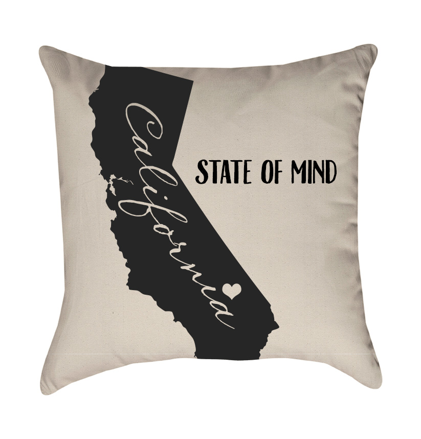 pillow love home florida zazzle location movable pillows decorative throw heart state