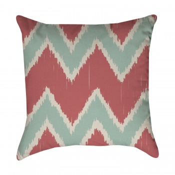 Tribal Chevron Ikat Pillow Cover