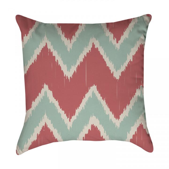 Tribal Chevron Ikat Pillow Cover