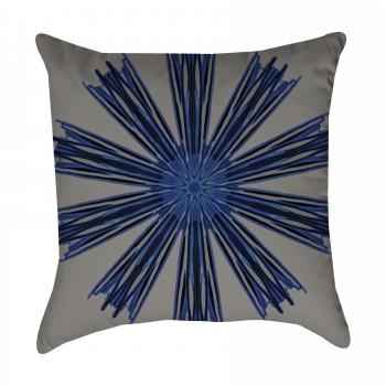 Indigo Bohemian Outdoor Pillow