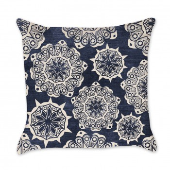 Medallion Indigo Pillow Cover
