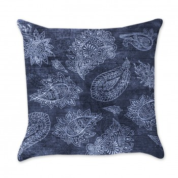 Paisley Indigo Pillow Cover