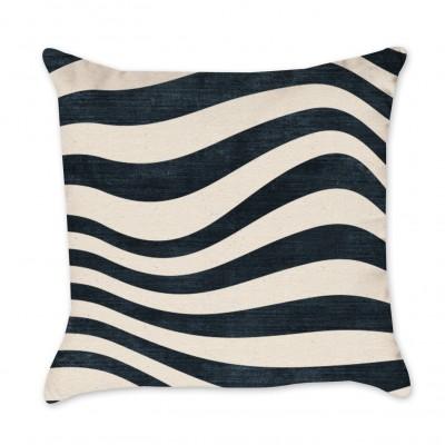Striped Indigo Pillow Cover