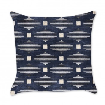 Tribal Indigo Pillow Cover