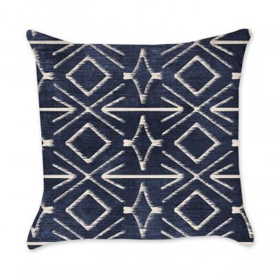 Tribal Indigo Pillow Cover