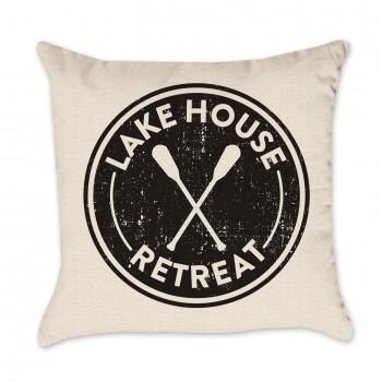Lake House Retreat Pillow Cover