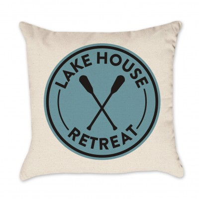 Lake House Retreat Pillow Cover