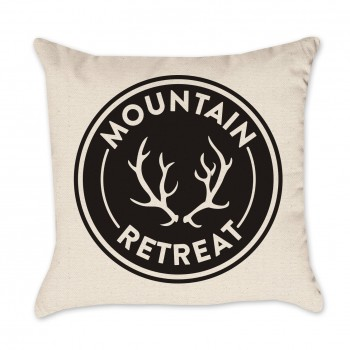 Mountain Retreat Pillow Cover