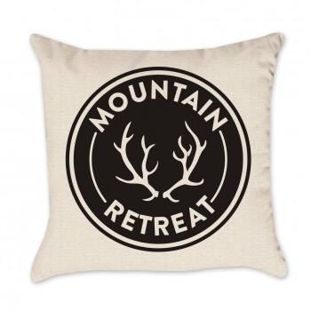 Mountain Retreat Pillow Cover