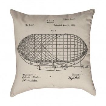 Balloon Patent Pillow Cover