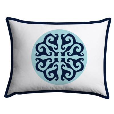 Floral Medallion Pillow Sham