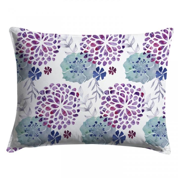Watercolor Floral Chintz Pillow Sham