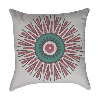 Starburst Tribal Outdoor Pillow