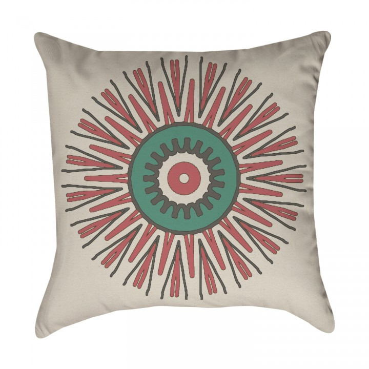 Tribal Medallion Pillow Cover