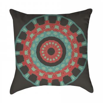 Tribal Medallion Outdoor Pillow