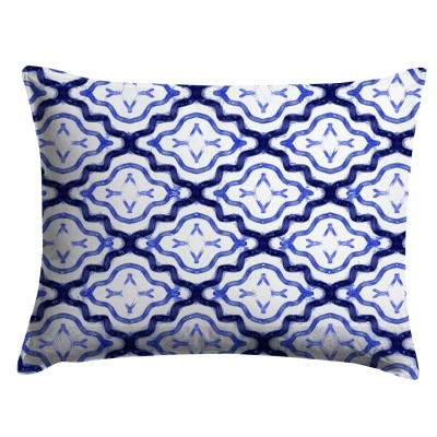 Indigo Shibori Medallion Pillow Sham